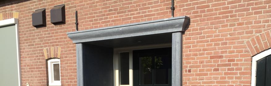 natuursteen deuromlijstig schoot natuursteen