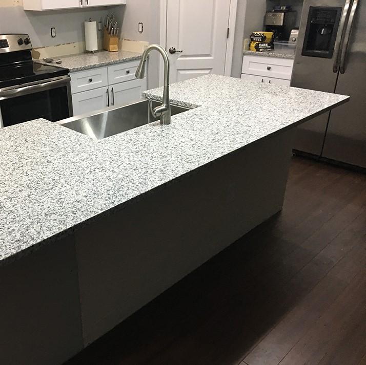 graniet aanrechtblad schoot natuursteen