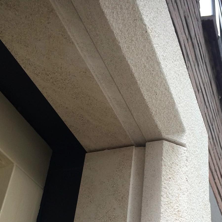 kalksteen deuromranding schoot natuursteen