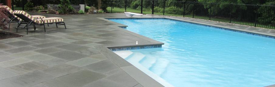 natuursteen zwembadomranding schoot natuursteen