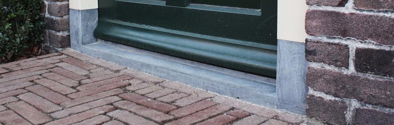 deurdorpel natuursteen schoot natuursteen