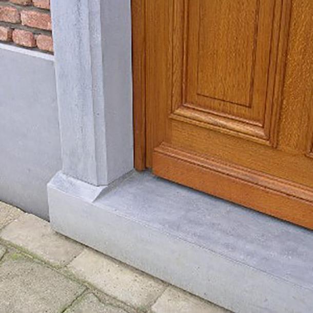 deuromlijsting hardsteen dorpel schoot natuursteen