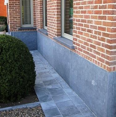 gevelplint natuursteen grijs