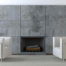 schouw natuursteen grijs getrommeld